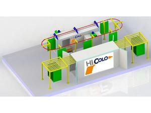 Small Powder Coating Line Layout