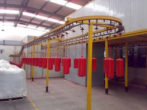 Fire Extinguisher Liquid Coating Line