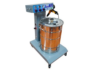 Pre-programmed Fluidizing Hopper Powder Coating Unit Colo-660