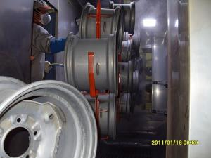 Car Wheel Rim Powder Coating Line