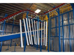 Aluminum Profiles Vertical Powder Coating Line
