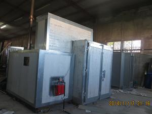 Gas Fired Curing Oven