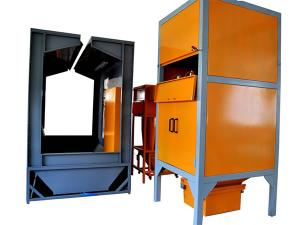 Spray Booth with Multi-Cyclone Recovery System, COLO-6100