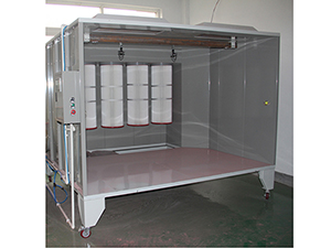Powder Coating Spray Booth with PLC COLO-S-2315