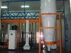 Cyclone Powder Coating Booth