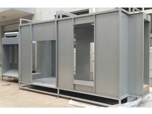 Dual Station Spray Booth