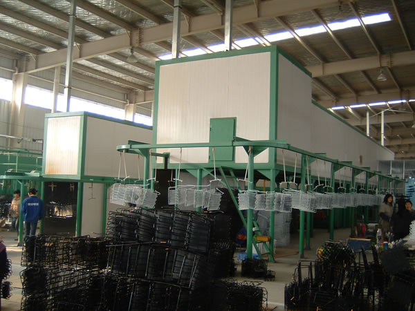 Condenser Electrostatic Powder Coating Plant